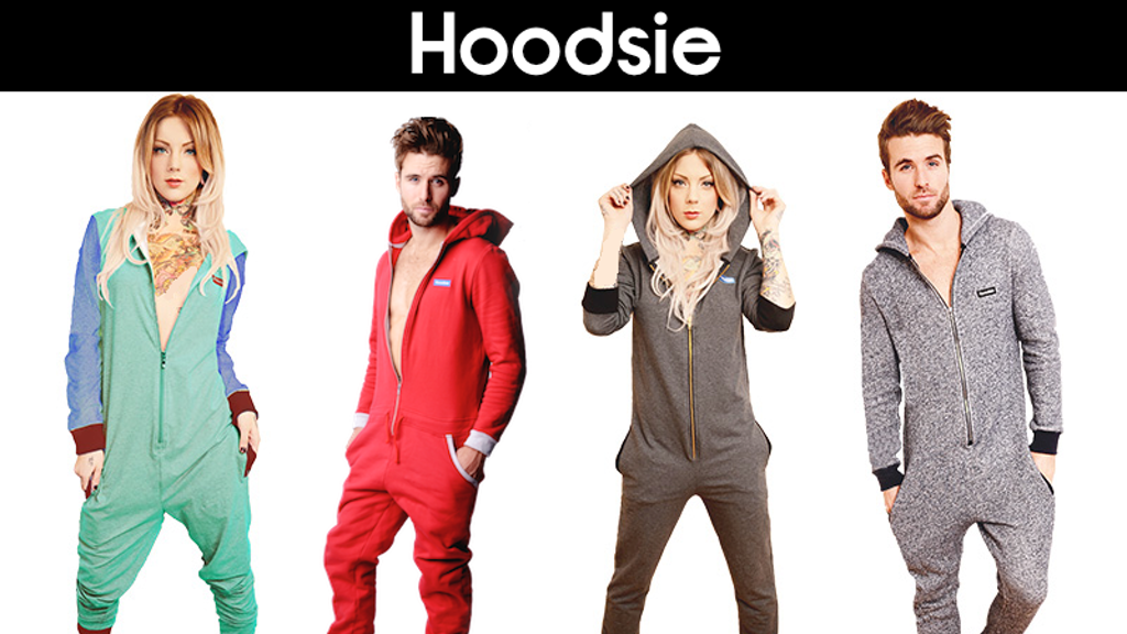 Hoodsie: Super Comfortable Pima Cotton Onesies For Adults project video thumbnail