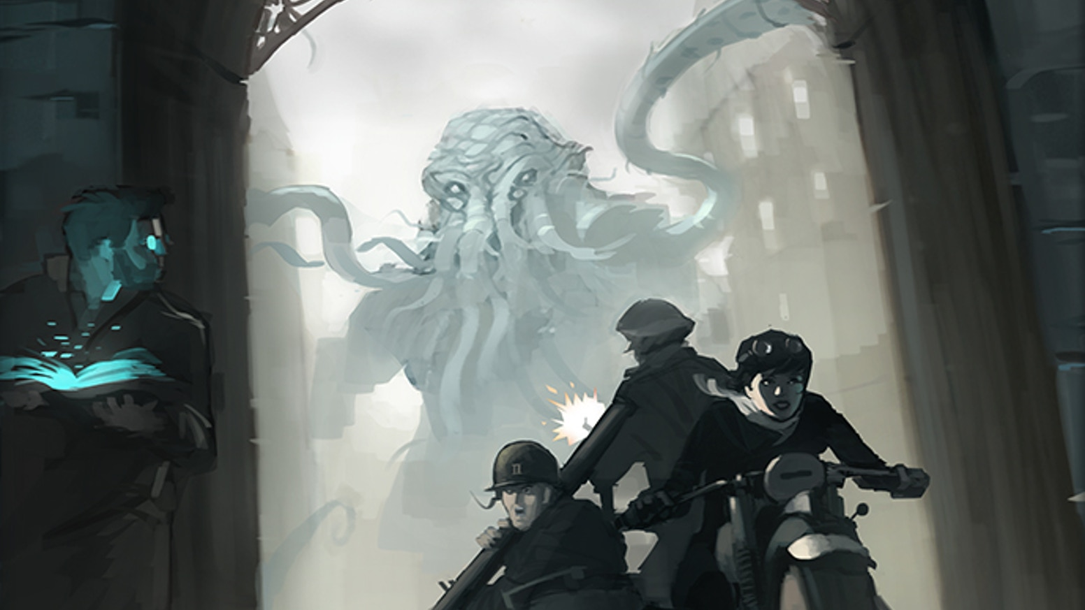 A terrifying World War Two setting for the Call of Cthulhu & Savage Worlds roleplaying games. The Secret War has begun!
