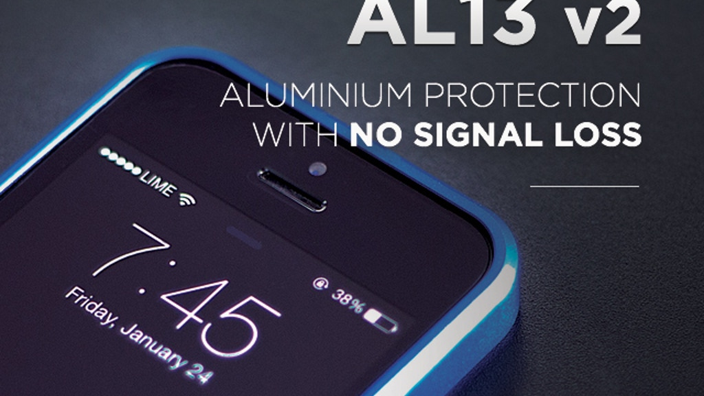 AL13 v2 - Aluminum iPhone Protection with NO Signal Loss project video thumbnail