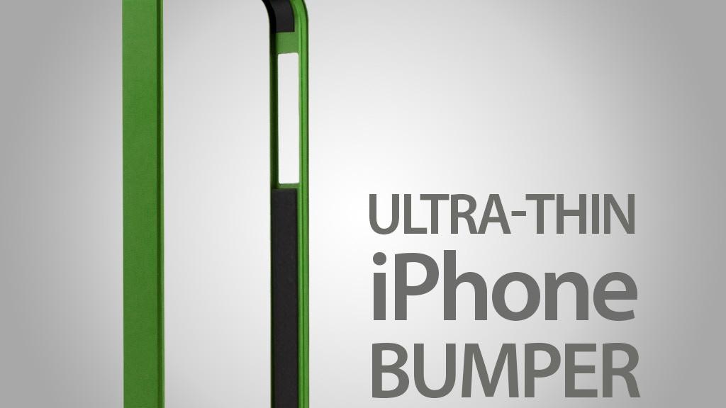AL13 Premium UltraThin Aerospace Aluminium Bumper for iPhone project video thumbnail