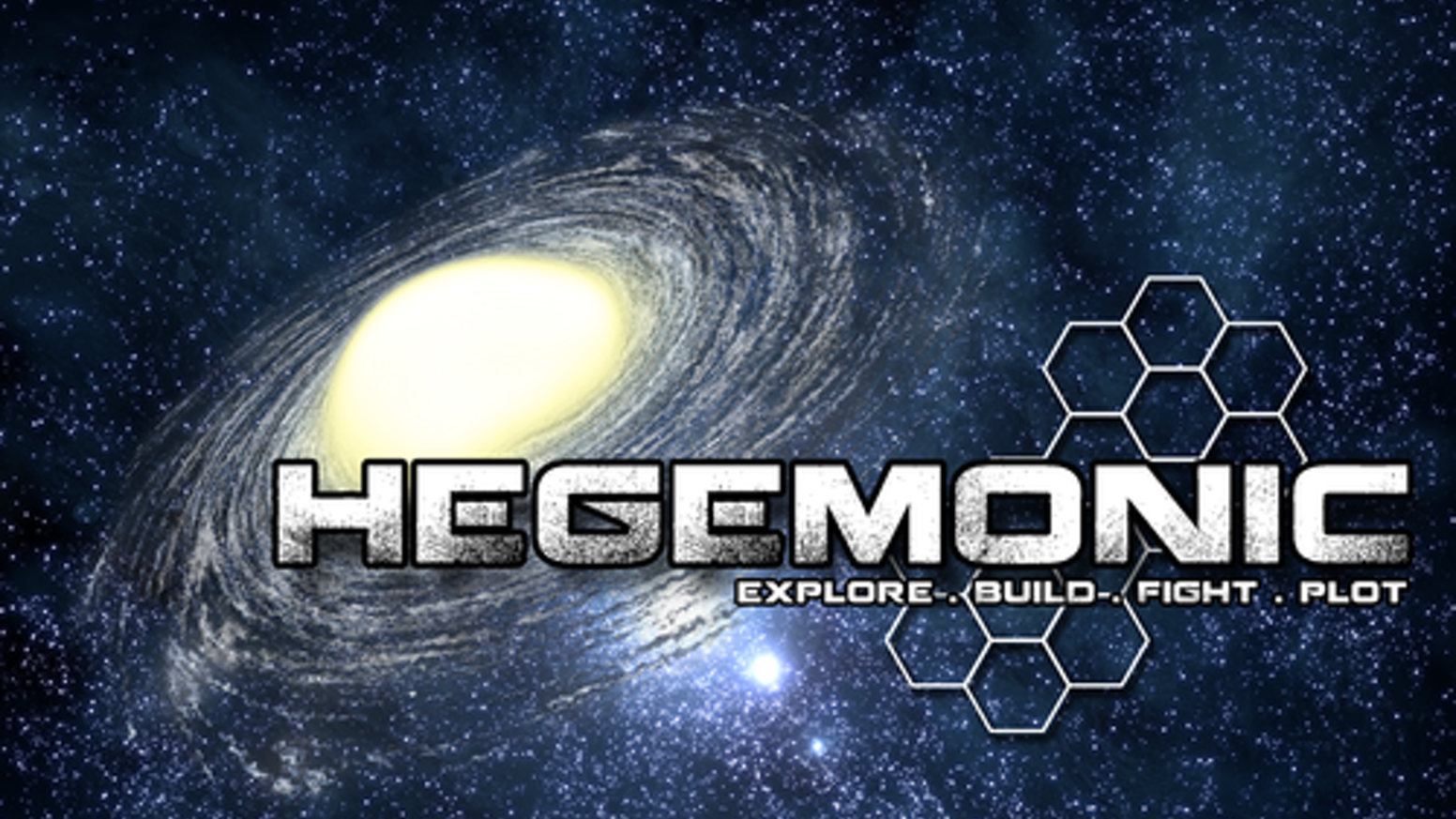 Hegemonic is a 4X game of galactic exploration, empire building, conflict and cunning. Use 3 distinct powers to rule the universe.