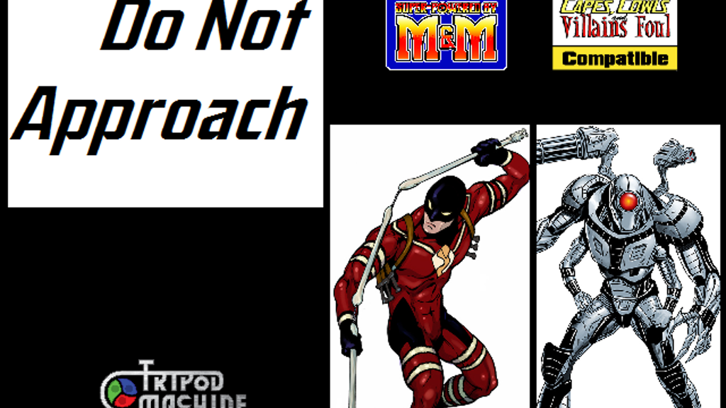 Do Not Approach, Villains for M&M and CC&VF (RPG) project video thumbnail