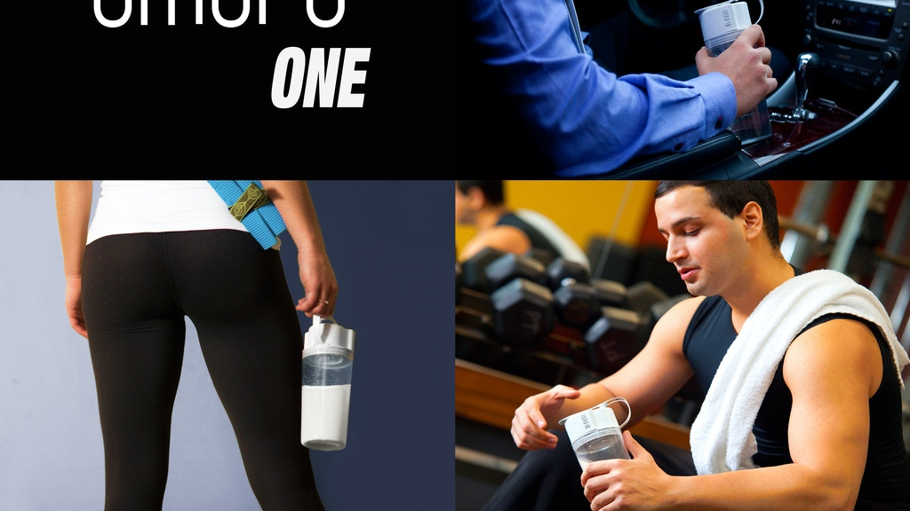 The Ultimate Shaker Bottle - Umoro One™ project video thumbnail