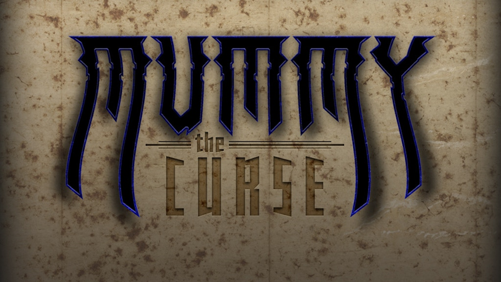 Mummy: The Curse Core Rulebook project video thumbnail