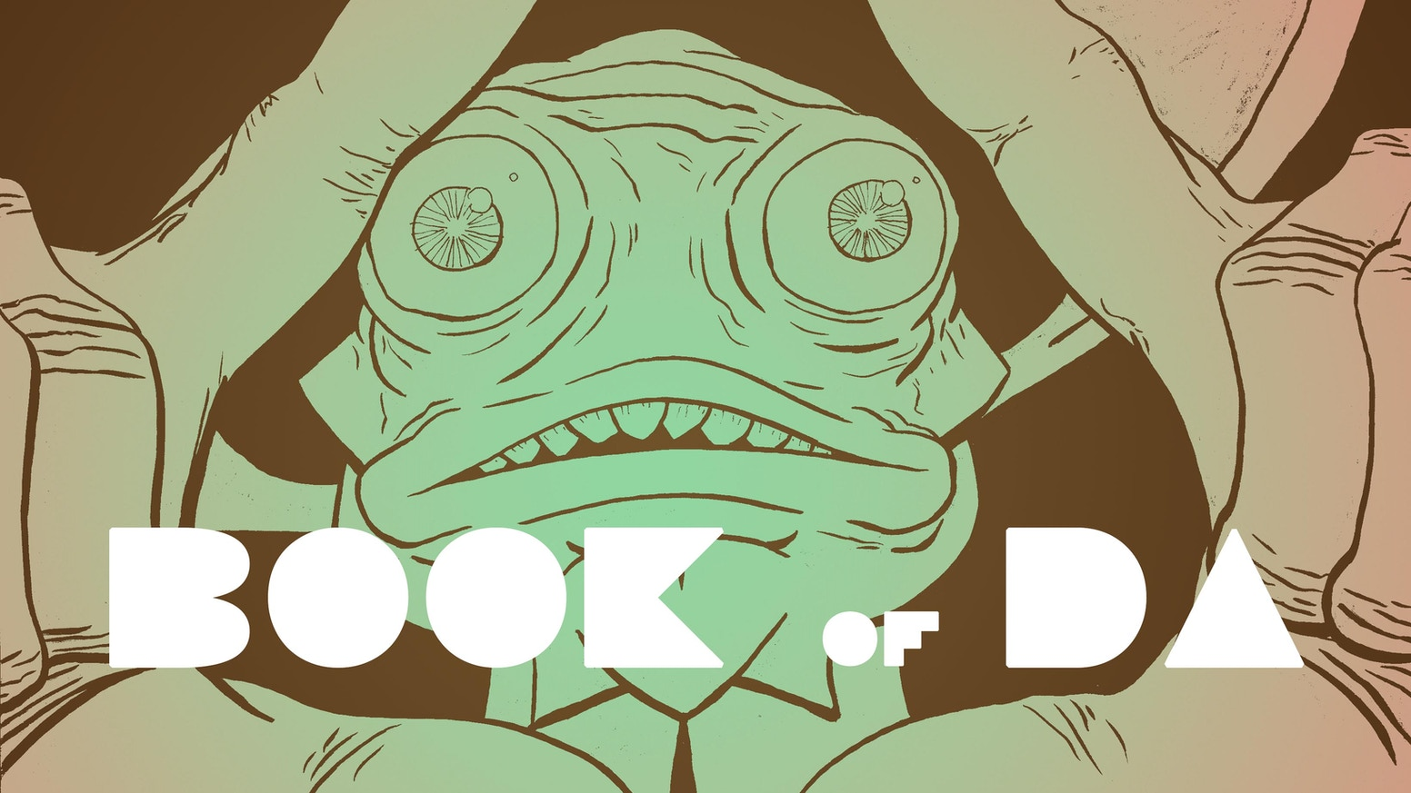 Cloth-Bound Graphic Novel about a Mysterious Being Who Controls the Emotions of the Sea, and the Deep-sea Diver Who Dares Defy Him.