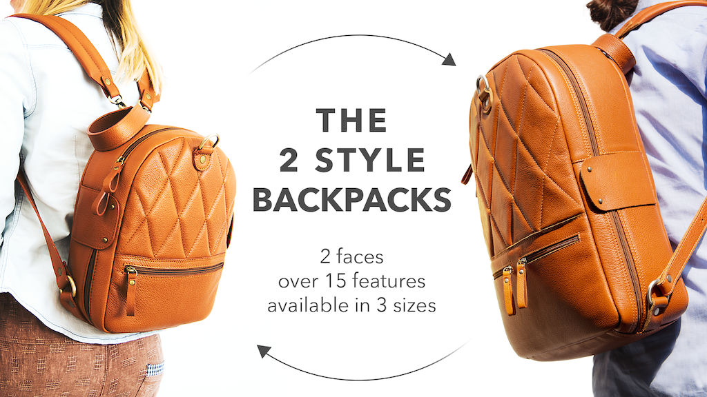 The 2 Style Backpacks | Chivote project video thumbnail