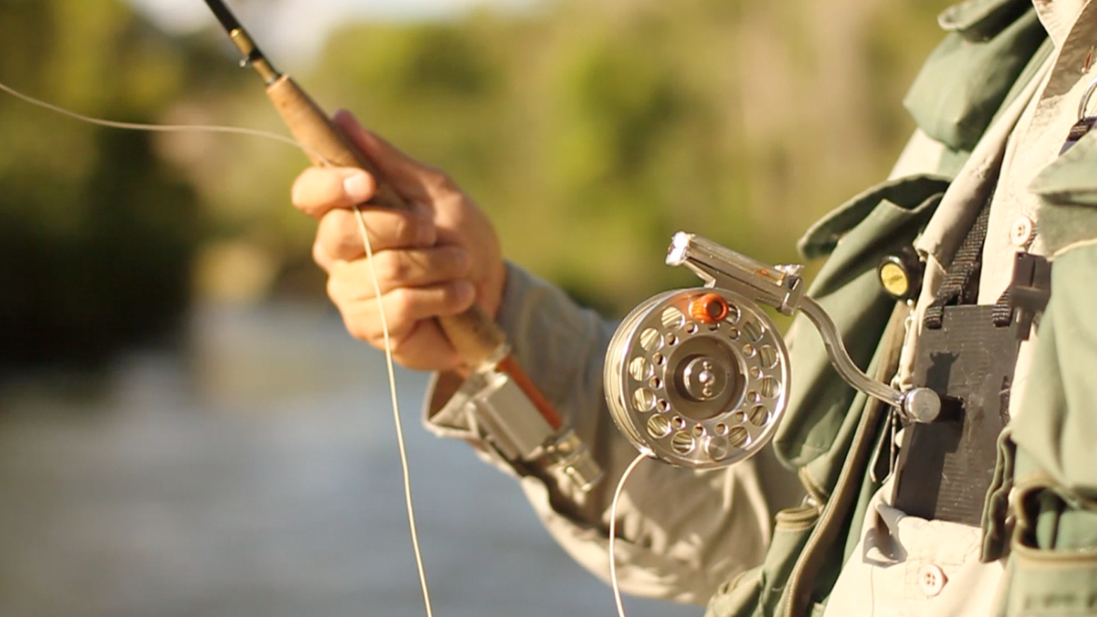 Rexfly casting system for fly fishing by rex huang for Fly fishing casting