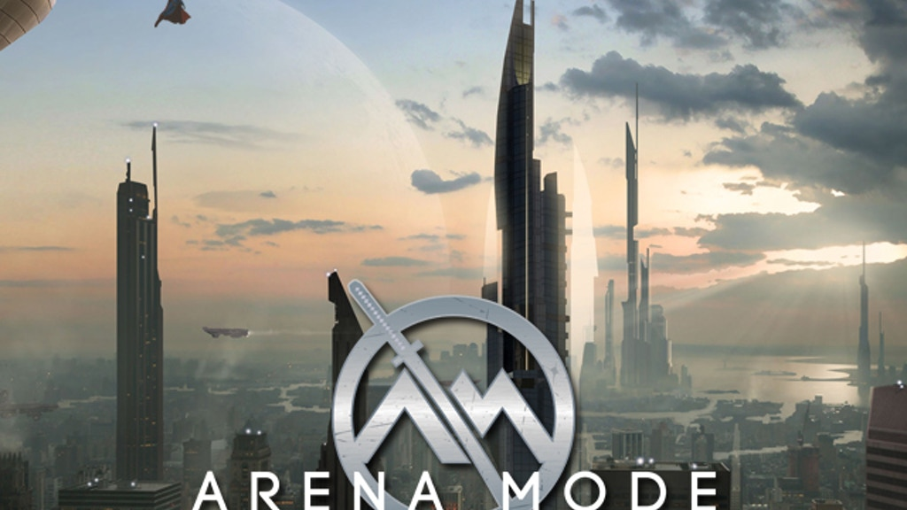 ARENA MODE - a sci-fi/superhero novel (plus a Tabletop RPG) project video thumbnail