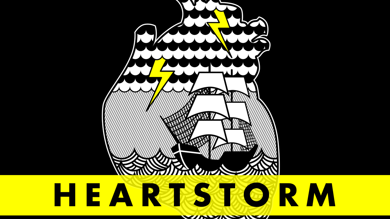 Heartstorm is a hand-made, linocut print by Michael Buchino. (And Aaron Draplin digs it.)