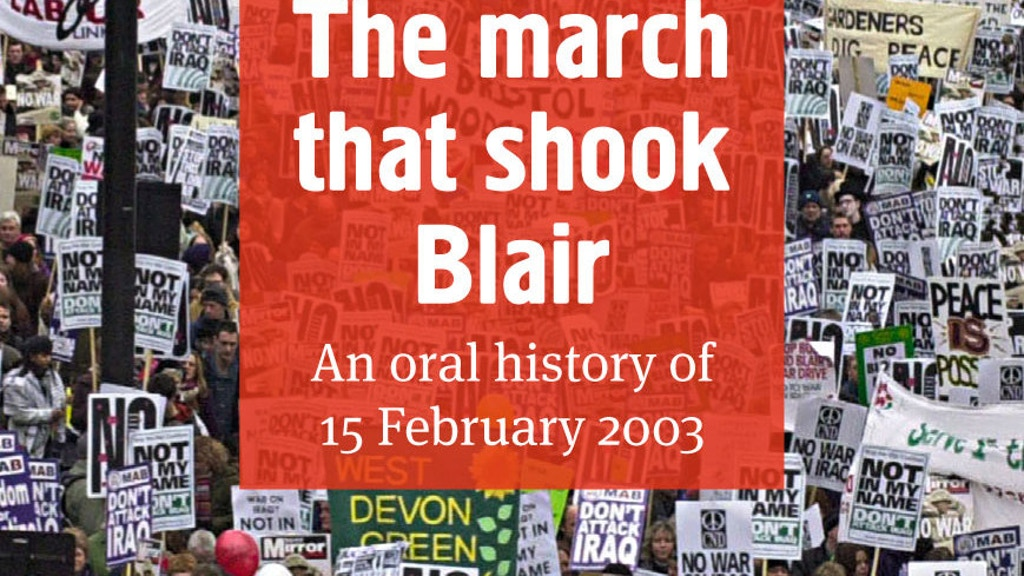 """The March that Shook Blair"" project video thumbnail"