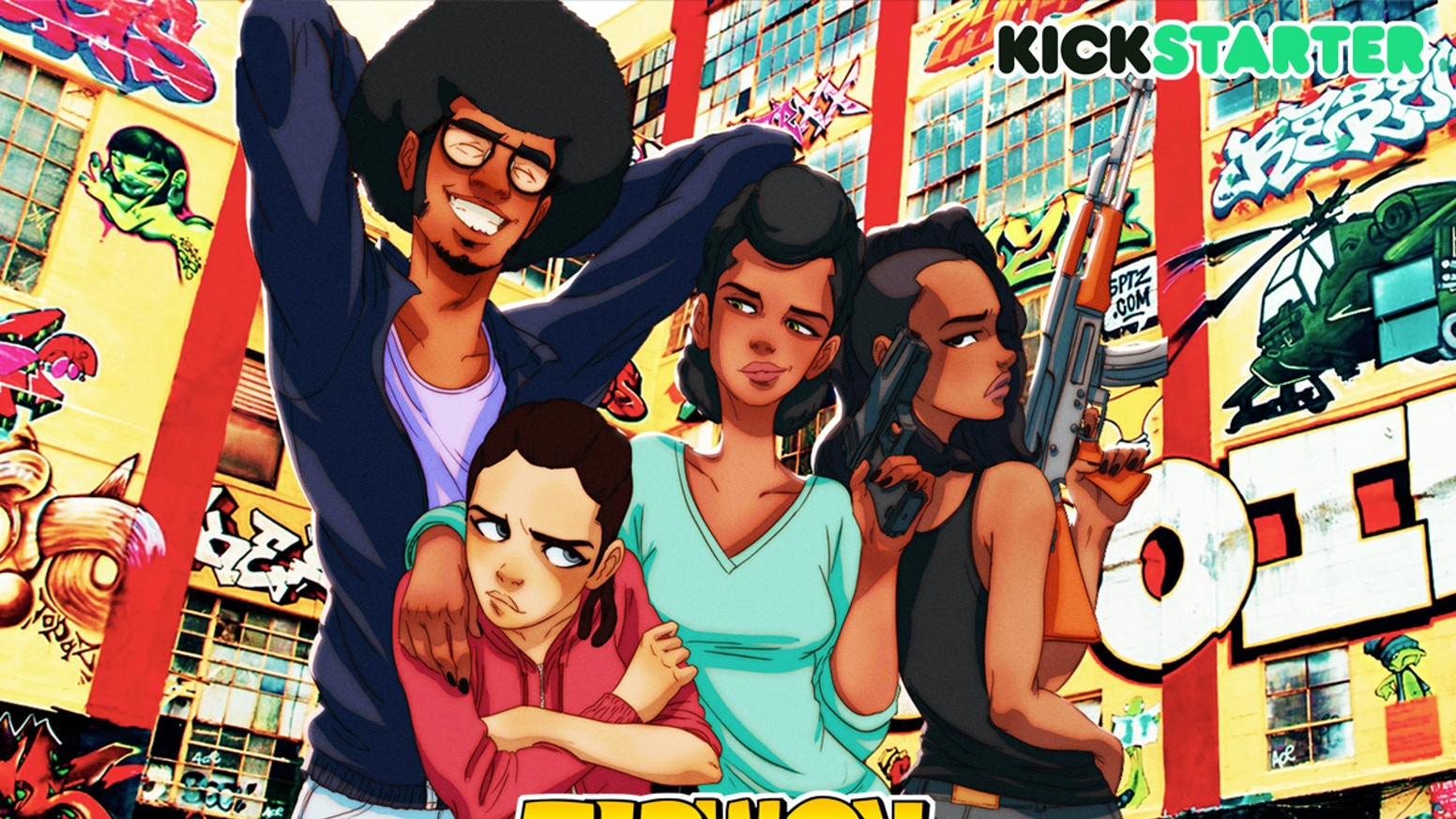 Help us bring the dopest manga to the world!