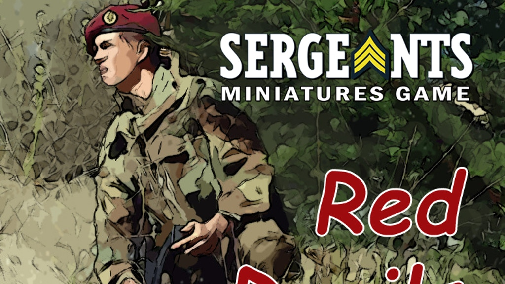 Sergeants Miniatures Game: Red Devils project video thumbnail