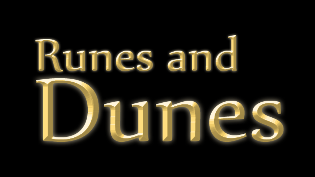 Runes and Dunes Kickstart Extravaganza! project video thumbnail