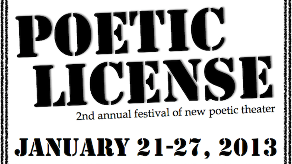 Poetic License 2013 project video thumbnail