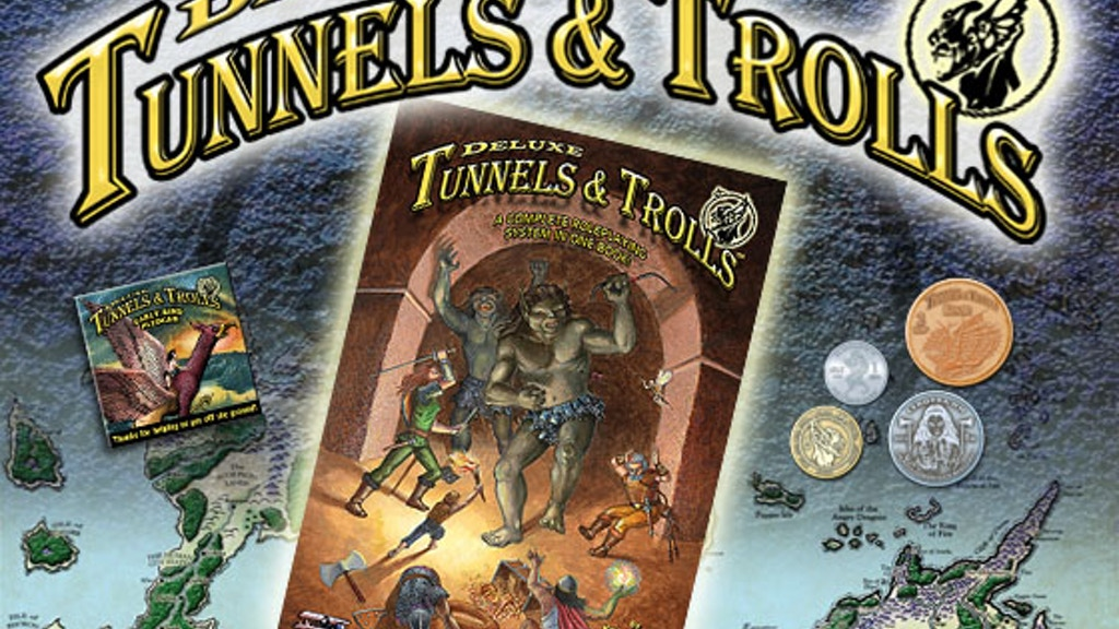 Deluxe Tunnels & Trolls project video thumbnail