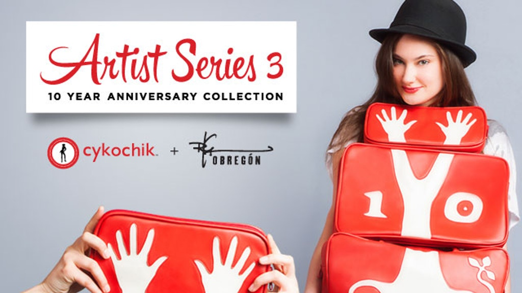 Cykochik Artist Series 3 :: 10 Year Anniversary Collection project video thumbnail