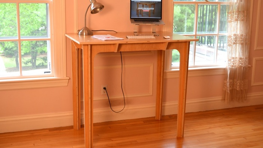 Press Fit Standing Desk: Affordable, Portable, Made in USA project video thumbnail