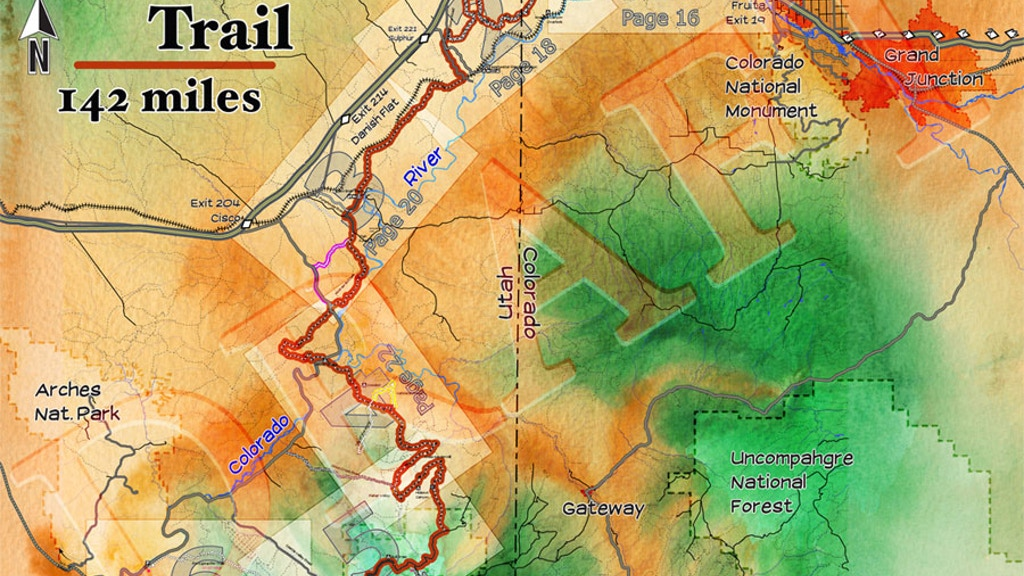 Guide book for Kokopelli's Trail by radovan — Kickstarter on legacy trail map, manti-la sal national forest map, elizabeth furnace recreation area trail map, phil's trail map, american discovery trail map, mee canyon map, independence trail map, cowboy trail map, hole in the rock trail map, loon trail map, phoenix trail map, buffalo trail map, great divide trail map, white rock lake trail map, deep creek trail map, colorado forest service trail map, bear creek trail map, las vegas bike trail map, rabbit valley map, lunch loops trail map,