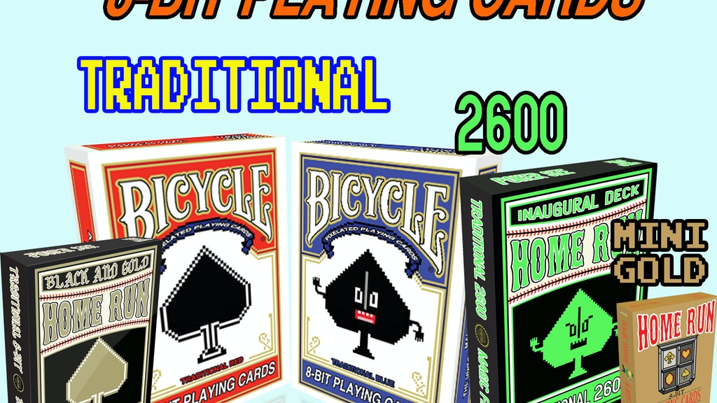 8-Bit Bicycle© Playing Cards The Traditional Decks project video thumbnail