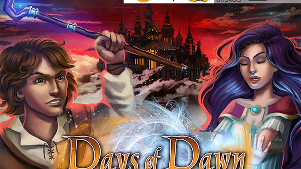 Days of Dawn – turn-based RPG with unique magic system project video thumbnail