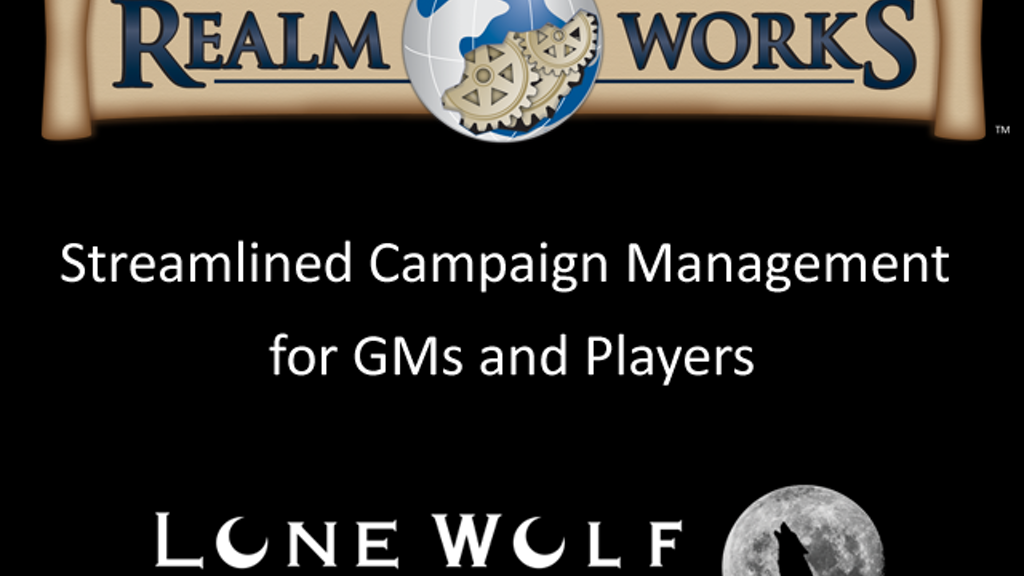 Realm Works - Streamlined RPG Campaign Tools project video thumbnail