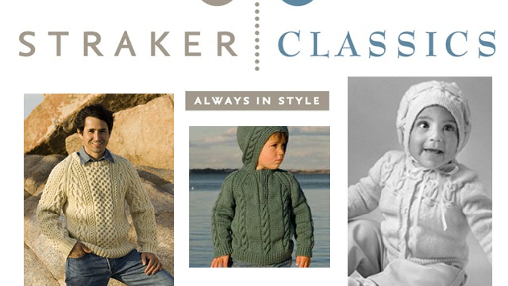 Penny Strakers Classic Knitting Patterns Online Catalogue By Leanne