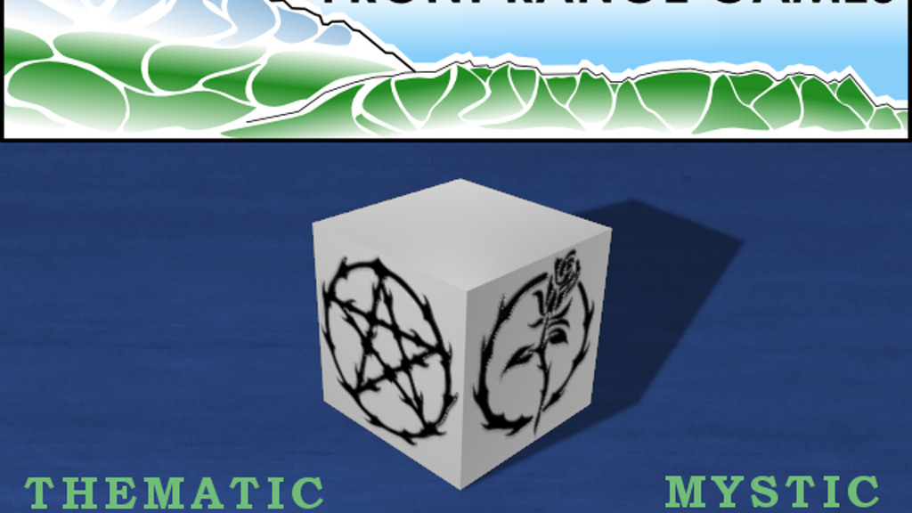 Thematic Fate/Fudge Dice - Mystic Rose project video thumbnail