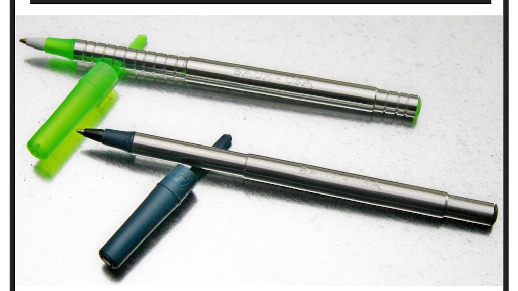 BAUX Pen, the affordable stylish stick pen project video thumbnail