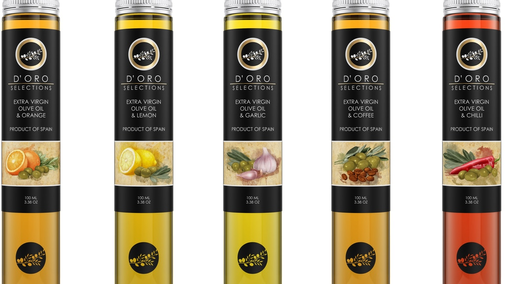 Project image for D'ORO SELECTIONS - THE NEW OLIVE OIL SENSATIONS