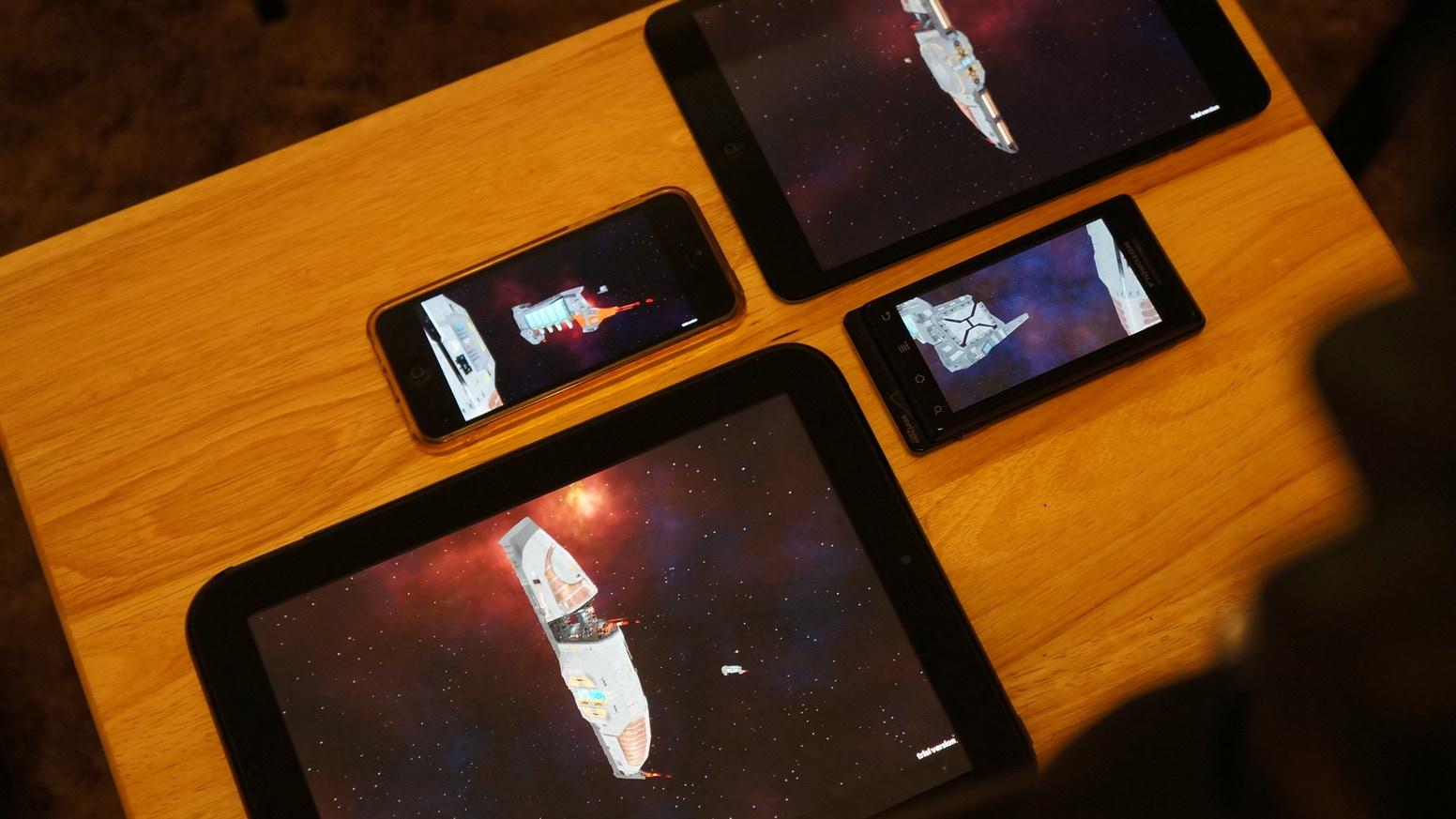 Homeworld Touch (iOS/Android) and Homeworld 3 (PC/Mac/Linux