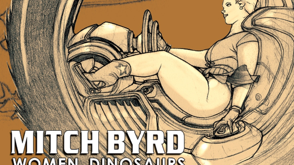 Mitch Byrd: Women, Dinosaurs Sketchbook vol. 1 project video thumbnail