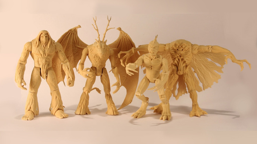 Project image for Cryptid Action Figures