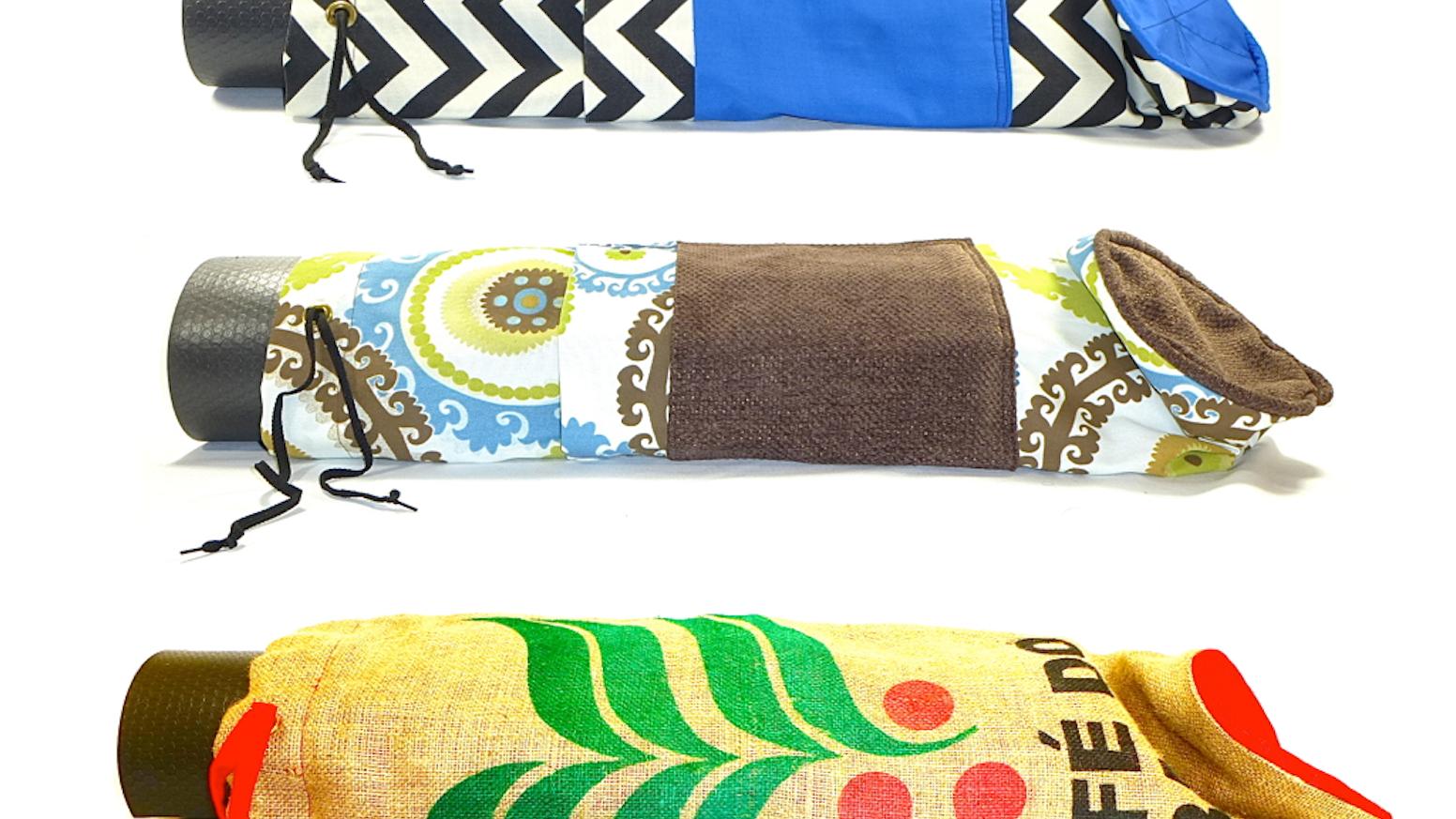 7cd7980049ab Coccinella Yoga  Handmade Yoga Mat Bags by Maria   Elizabeth Cramond ...