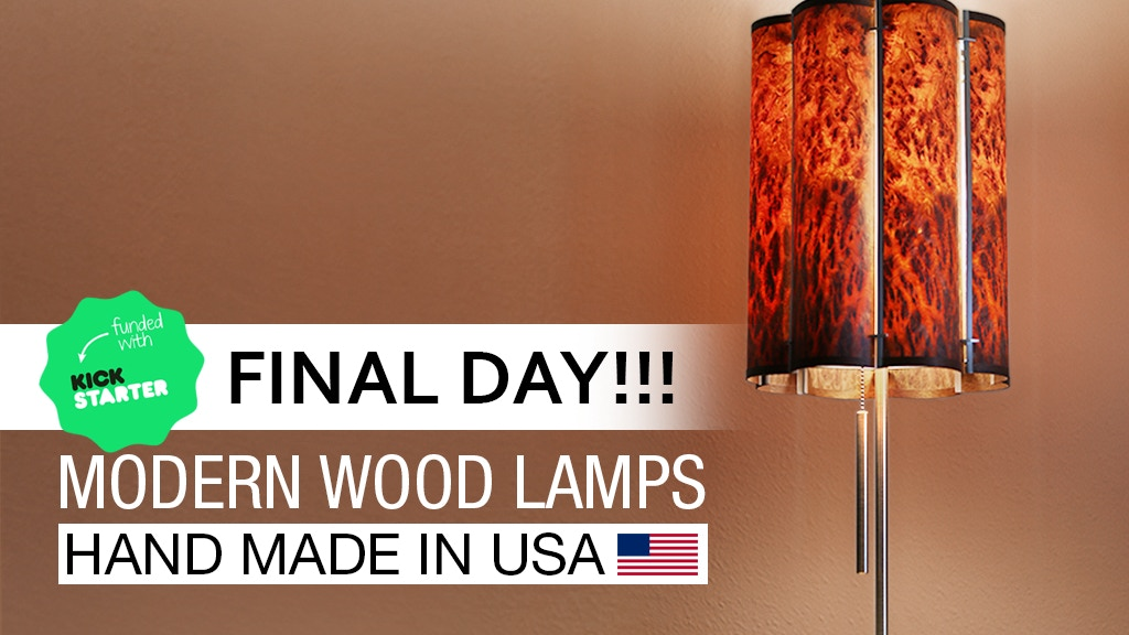 The Slatewood Lamp Collection By Noend Designs Kickstarter