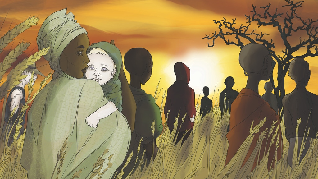 FLESH OF WHITE Comic: Surviving Albinism in Tanzania project video thumbnail