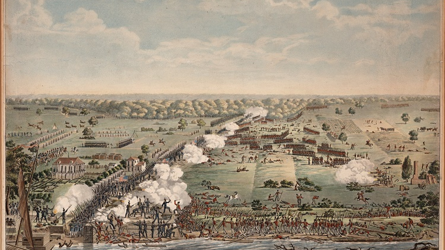 The Battle of New Orleans: But For a Piece of Wood