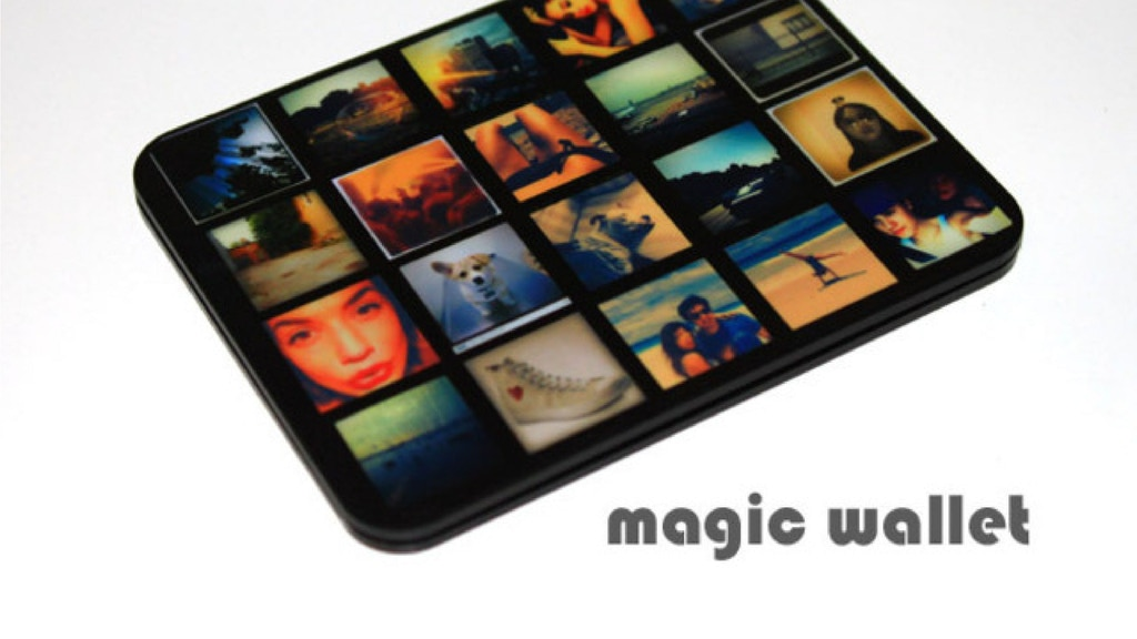 The Magic Wallet. Slim and Unique Design. RFID protection. project video thumbnail