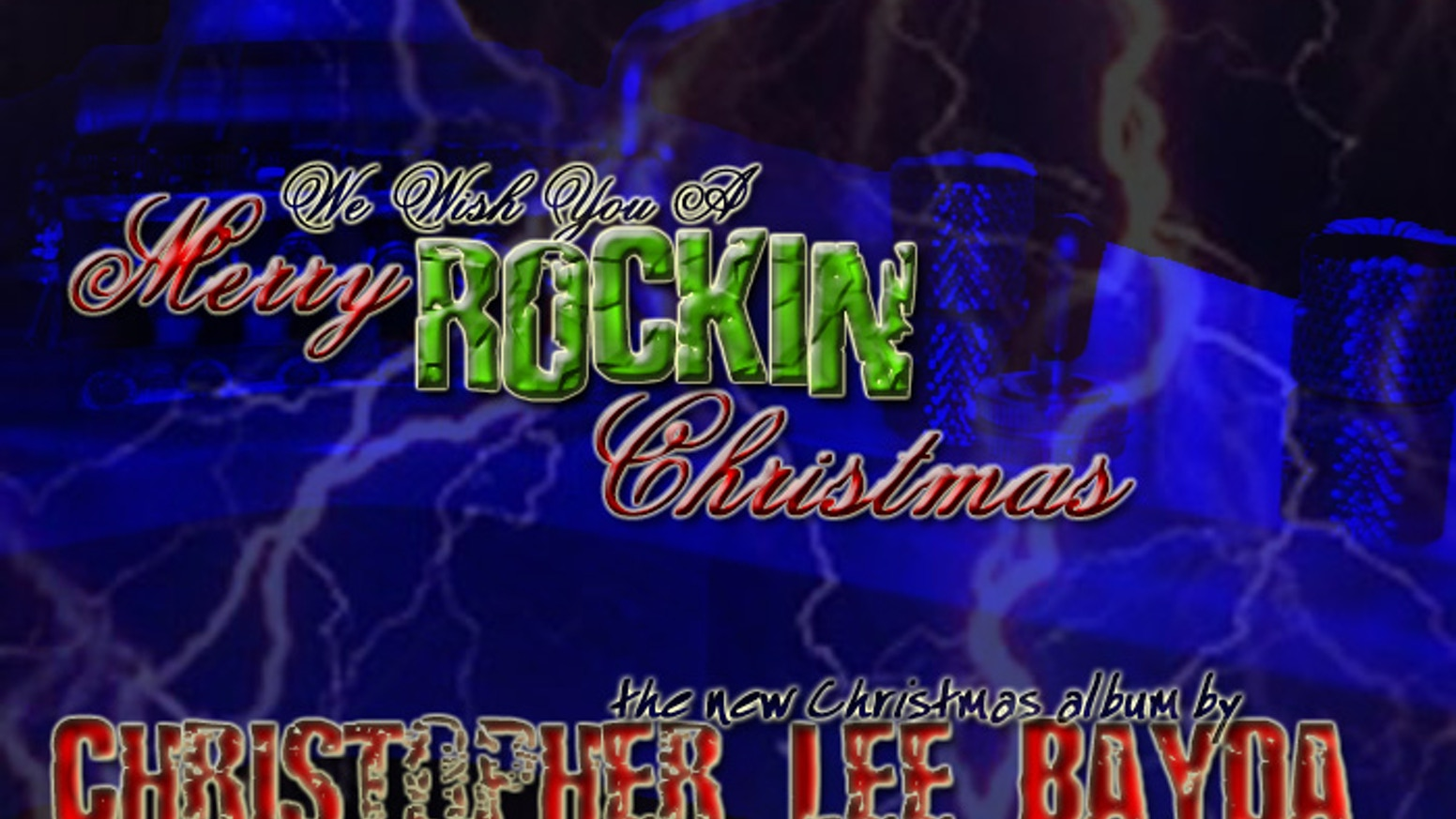 Chance Christmas Album.We Wish You A Merry Rockin Christmas By Christopher Lee