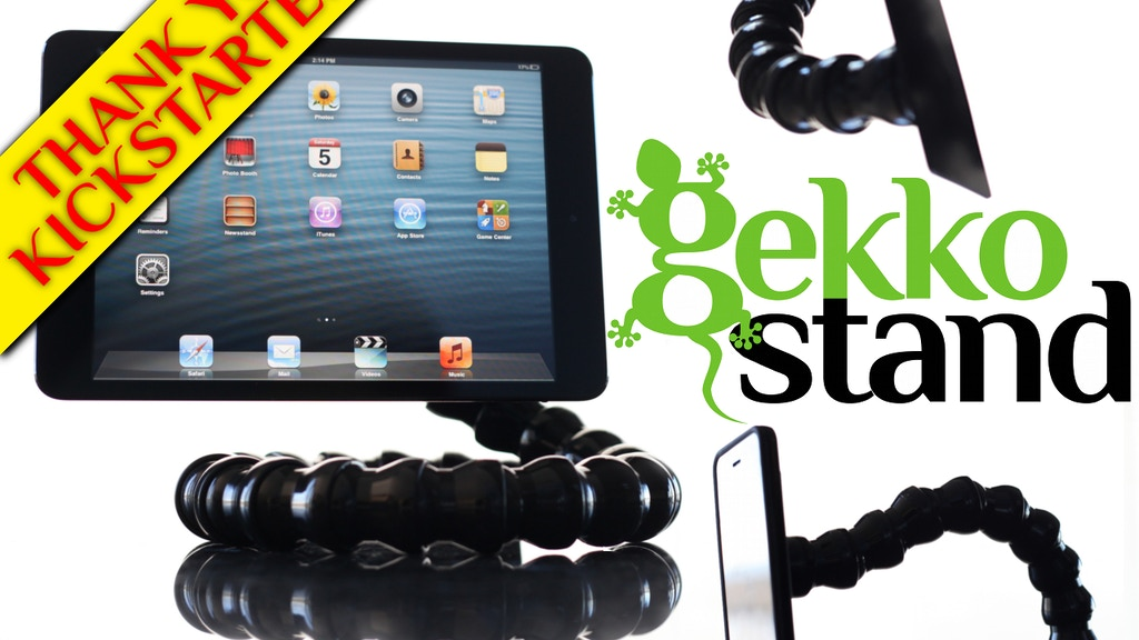Gekko Stand - Universal & Adjustable NanoSuction Stand project video thumbnail