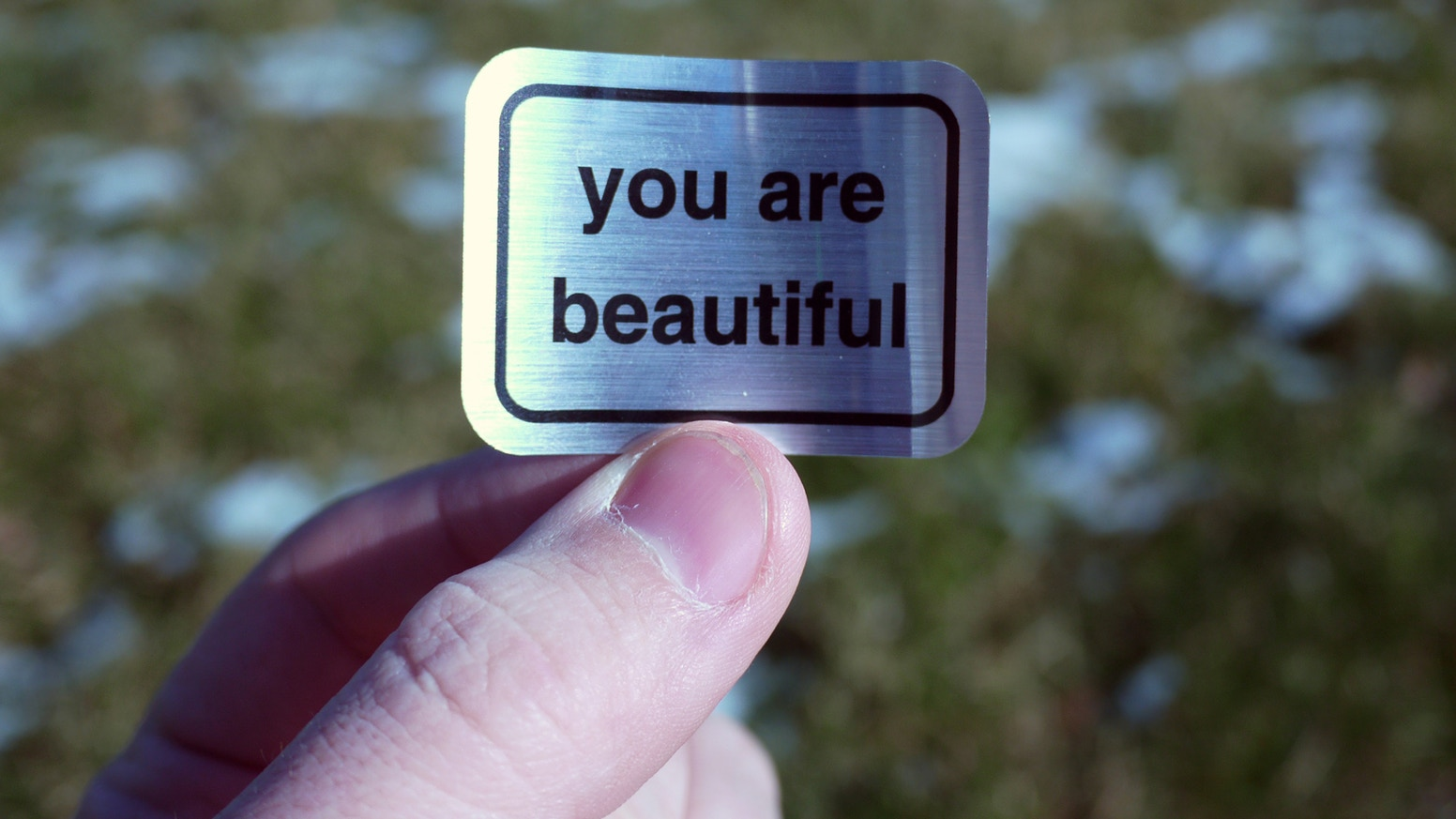 You Are Beautiful Book. A simple, powerful message. Over the last decade, a  half million stickers have traveled around the globe. Be a part of the  movement.