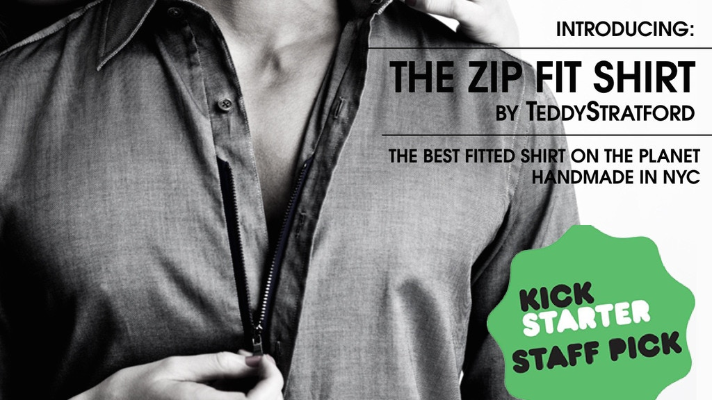The Zip Fit Shirt - The Best Fitted Shirt on the Planet project video thumbnail