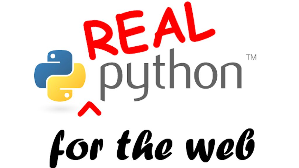 Real Python for Web Development, featuring web2py project video thumbnail