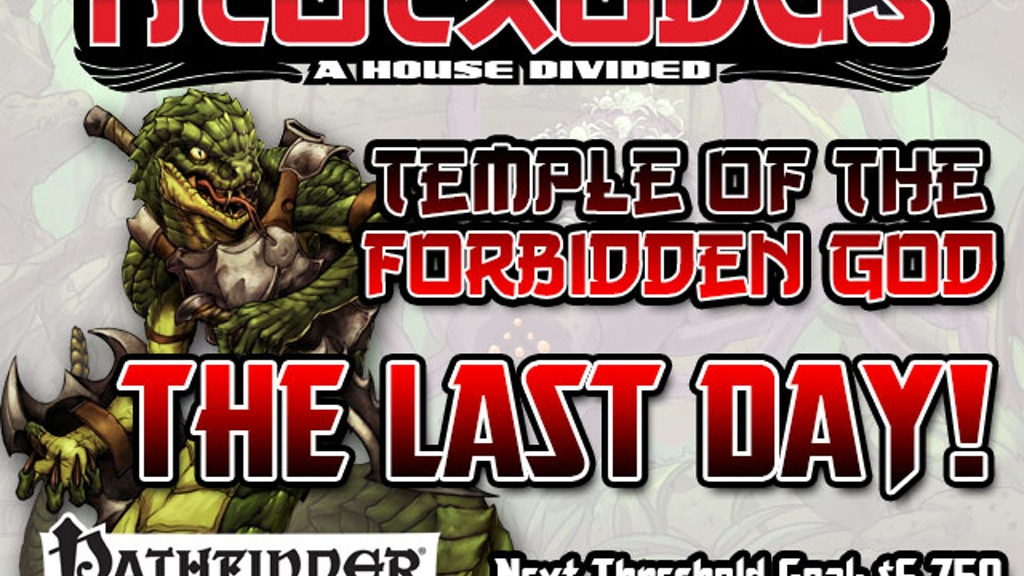 Free RPG Day 2013 NeoExodus Adventure for Pathfinder RPG project video thumbnail