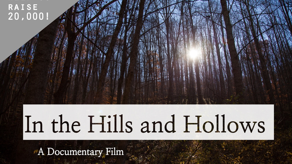 In the Hills and Hollows project video thumbnail