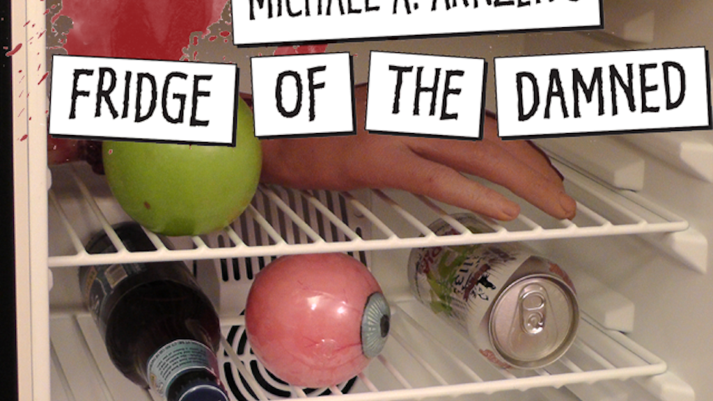 Michael A. Arnzen's Fridge of the Damned magnetic word kit project video thumbnail