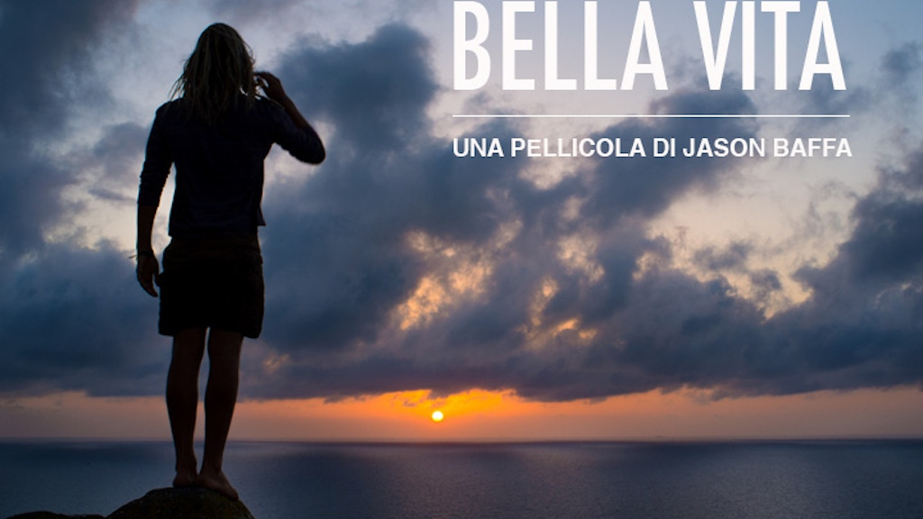 BELLA VITA - A Surfer's Journey Through Italy project video thumbnail