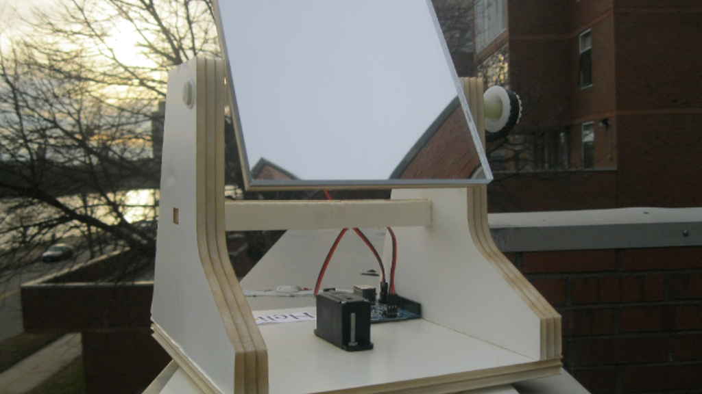Helios: A DIY Heliostat project video thumbnail