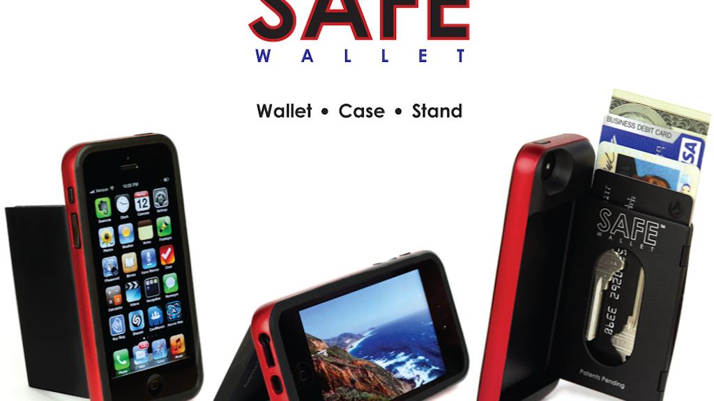SAFE Wallet Case for iPhone 5 by BulletTrain — Kickstarter