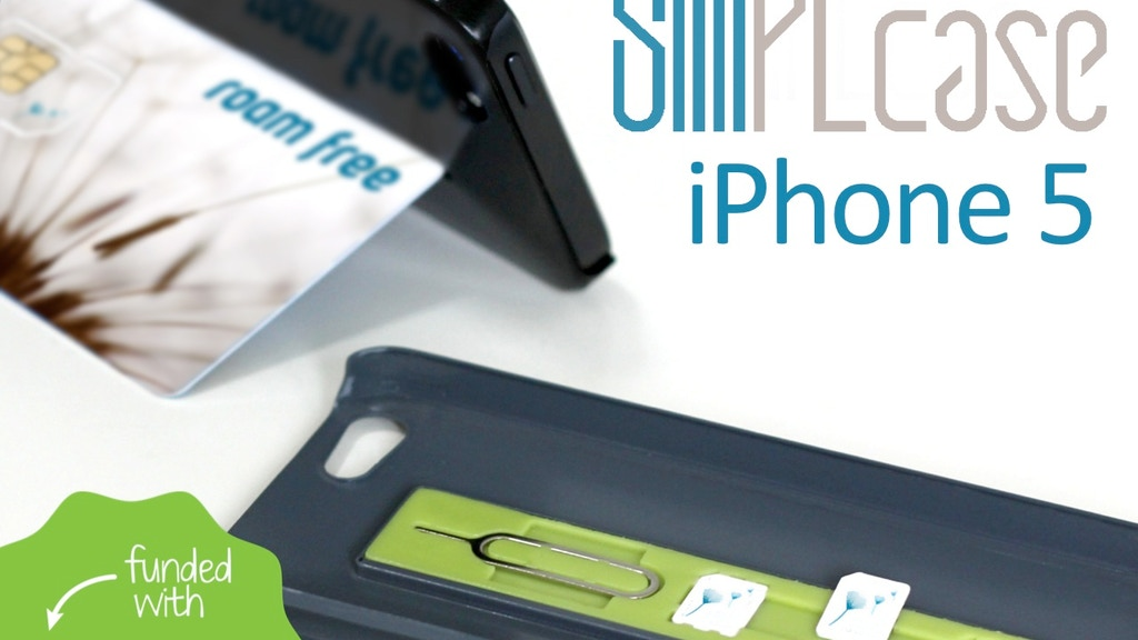 SIMPLcase ~ Minimalist iPhone 5 Case for Travelers project video thumbnail