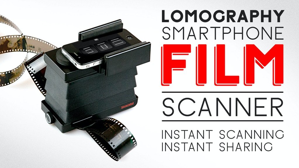 The Lomography Smartphone Film Scanner project video thumbnail